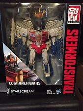 STARSCREAM, Transformers Combiner Wars, Leader Class. MISB