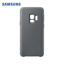 Genuine Official Samsung Galaxy S9+ Plus Case Cover Hyperknit Qi Wireless Grey