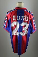 FC Barcelona Trikot Gr. XXL Kappa Jersey 1995-1997 Home FCB #23 De La Pena 90s