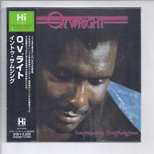 O. V. WRIGHT Into Something Can't Shake Loose JAPAN mini lp cd soul hi records