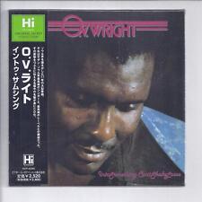 O. V. WRIGHT Into Something Can't Shake Loose JAPAN mini lp cd soul hi records