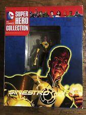 DC COMICS SUPER HERO COLLECTION ... SINESTRO ... EAGLEMOSS FIGURINE