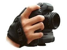 Black Soft Hand Strap fit CANON EOS Rebel XT Xti XS Xsi T1i Digital SLR Camera