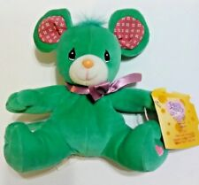 New listing Vintage Precious Moments Tender Tails Bean Bag Plush Toy Rosie The Mouse (B2)