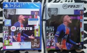 FIFA 21 - PS4 / PS5 + STEELBOOK - EA SPORTS - NEW AND SEALED !