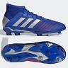 adidas Predator 19.1 FG Junior Football Boots Boys Girls Blue SIZE 3 4 4.5 5 5.5