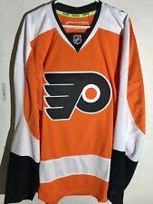 Reebok Authentic NHL Jersey Philadelphia Flyers Team Orange sz 54