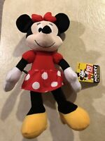 Mickey Mouse True Original - Plush Minnie Mouse Figure 90 YEARS OF MAGIC (N10)