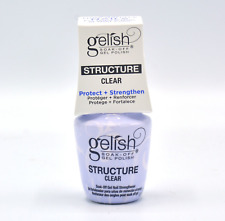 Harmony Gelish Soak-Off Gel - STRUCTURE GEL Clear *IN THE BOTTLE* 0.5oz/15ml