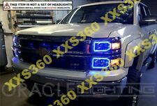 ORACLE Headlight HALO RING KIT for Chevrolet Silverado Non/Pro 14-15 BLUE LED