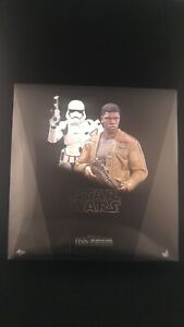 "BOX Only! Finn + Riot Stormtrooper SET 1/6 12"" Hot Toys Star Wars  Damaged"