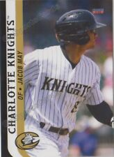2018 Charlotte Knights Jacob May RC Rookie Chicago White Sox