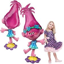 "58"" Trolls Poppy Airwalker Mylar Foil Balloon Party Supplies"