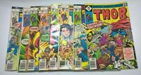 THOR # 259,260,262,270,271.272,273,274  MAY 1977 TO AUG 1978  EIGHT ISSUE LOT