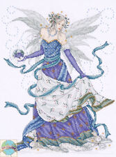 Cross Stitch Kit ~ Design Works Lovely Winter Maiden Magical Ice Fairy #DW2739