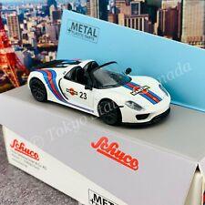 Schuco 1/64 Porsche 918 Spyder Martini White Hong Kong Limited Edition  45202110