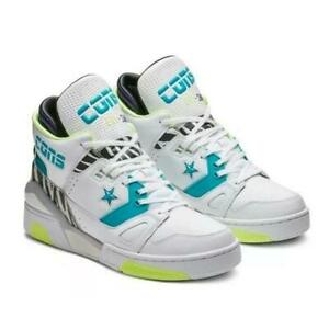 Converse CONS ERX-260 Animal Teal Purple Mid Court Heavy Duty Leather Shoes Mn's