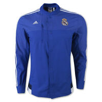 adidas Men's Real Madrid Anthem Jacket Bold Blue M36393