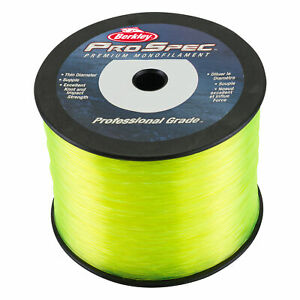 BERKLEY PRO SPEC MONOFILAMENT 20# 3360YDS FLUORESCENT YELLOW