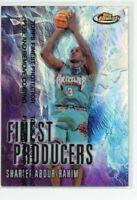 1999-00 Finest Producers Refractors #FP8 Shareef Abdur-Rahim! RARE!!