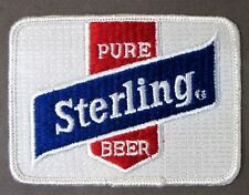 PURE STERLING BEER jacket uniform shirt  patch MINT unused