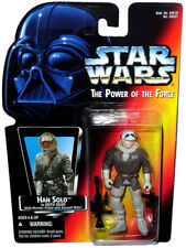 Star Wars POTF Han Solo Hoth Gear Action Figure Closed Hand Variation MIB Toy