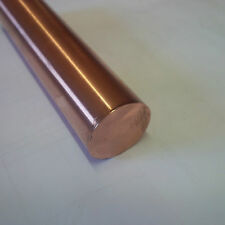 Copper Round Bar Rod Dia 38.1mm x 600mm Long Lathe CNC Milling