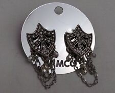 MIMCO Jewellery- Victoria Drape Ear Earrings - Crystal Pearl Mix- BNWT- rrp$129
