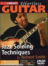 LICK LIBRARY EFFORTLESS GUITAR JAZZ SOLOING TECHNIQUES Learn to Play Tutor DVD