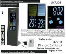 LOWELL U47203 STAZIONE METEOROLOGICA e BAROMETRICA a COLORI con SENSORE ESTERNO