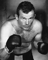 Boxing Heavyweight INGEMAR JOHANSSON Glossy 8x10 Photo Boxer Print Portrait