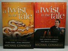 4 stories 2 books Michael Connelly A Twist in the Tale BN HC AB6 FREE Postage
