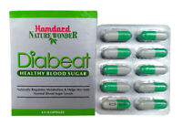 Hamdard Diabeat an Ayurvedic ( Unani ) Remedy for Blood Suger - 60 Capsules