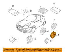 VW VOLKSWAGEN OEM 10-14 Jetta Stereo Audio Radio-Front Door Speaker 1KM035454D