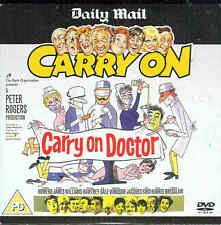 CARRY ON DOCTOR - Sid James etc -  Classic Comedy DVD