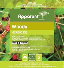 Woody Herbicide Triclopyr / Picloram 5l Apparent 5 Litre (equivalent to Grazon)