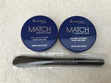 Oriflame Professional Foundation Brush + Rimmel Silky Loose Face Powder X 2