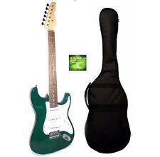Chitarra Elettrica Stratocaster Verde con Custodia Corde Omaggio - Top Quality