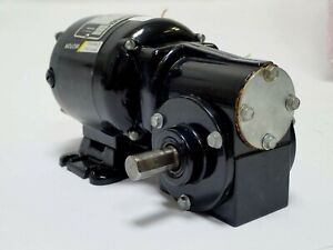 BODINE ELECTRIC NSH-12RH GEARMOTOR 115 VDC 86 RPM 1/50 HP RATIO 20:1 .33A TESTED