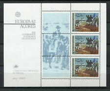 S8331) Azores Mnh 1982, Europa, Return of Mindelo Heroes S/S