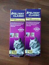 2xFeliway Calming Spot 60ml Spray for Cats -exp 10/20