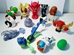 LOT of 13 Happy Meal Toys McDonald's Burger King Disney Dream Works Star Wars