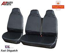 2+1 résistant imperméable AVANT Housses de siège protection pour Fiat Ducato