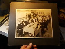 LARGE 1918 CABINET PHOTO, DIAMOND CLUB AT CHAS FASHION RESTAURANT, SAN FRANCISCO