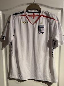 Retro England Home Shirt, XL 2007-9