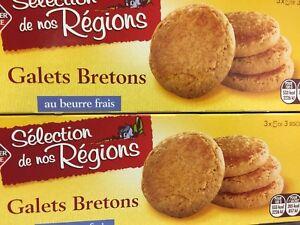 lot De 7 Paquets De Gâteaux De Palet Breton DLC Longue