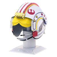 Fascinations Metal Earth Star Wars Luke Skywalker Helmet 3D Model Kit MMS318