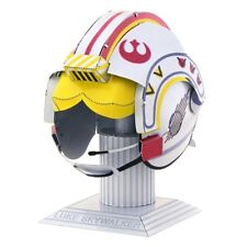 Fascinations Metal Earth Star Wars Luke Skywalker Helmet 3D Model Kit MMS318