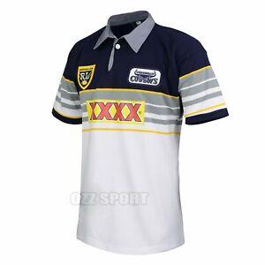 North Queensland Cowboys 1995 Heritage Vintage NRL ARL Retro Rugby League Jersey
