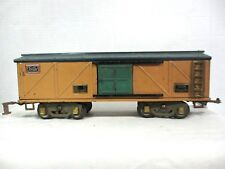 American Flyer # 4018 Standard Gauge Box Car Vintage Pre War Model Train (B10-3)